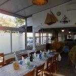La salle des repas de La Côte d'Argent