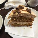 Sticky coffee cake
