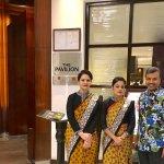 With Deepika Oberoi and Pavleen Kaur