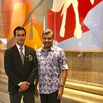 With Siddhant Tyagi,Assistant Manager (F&B)