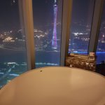 View from the bathroom on 78th floor