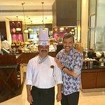 With Dosa Master Mahavir