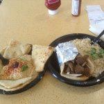 Shawarma and Hummus