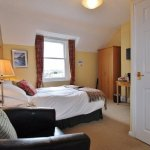 This second floor double bedroom overlooks Catbells, the Newlands Fells as well as the town.