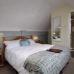 Attic room at Brierholme with great views of Skiddaw.