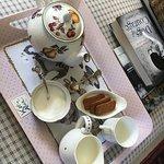 Tea upon arrival