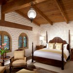 One of three Hacienda master bedrooms.