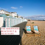 Beach hut and deckchairs free of charge