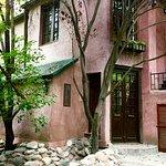 entrance to our casita at Casa Glebinias