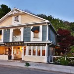 Historic inn with 5 luxury suites & 10 rooms; pub fare & fine dining; incredible gazebo & garde