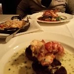 Steak and Lobster tails, Lobster Mac and cheese