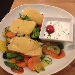 Roast veg and cheese