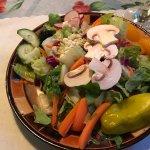 Simple, fresh salad