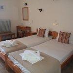 Twin room at Hotel Galini Skala Eresos Lesvos