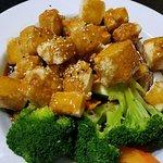 Tofu Teriyaki (tofu was perfect!)