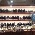 espace vente de thé, café et infusions