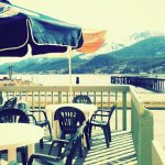 Come and enjoy outdoor seating with one of the best views in Juneau!