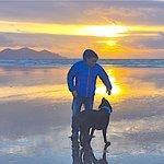 Beautiful beaches in Snowdonia.