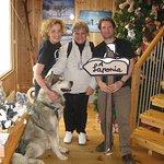 Jose, Gloria y Lonchas, perfectos anfitriones en Artico Ice Bar