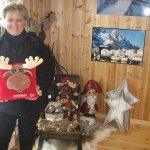 Además del bar de hielo, la tienda de recuerdos y regalos es la mejor que hay en toda Noruega