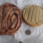 Crisp and Peanut Butter Cookie (L A R G E )