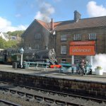 Grosmont is a lovely station - couple of interesting shops (one selling die-cast models_
