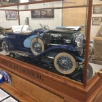 Miniature Duesenberg. 1/6 scale. One year of construction.