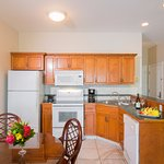 kitchen in 1 and 2 bedrooms