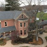 Bird's eye view of Brick House on Main Bed & Breakfast