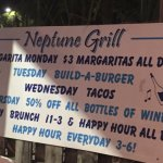 Daily Specials - Neptune Grill, Gulfport FL