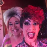 The beautiful Chichi and Miss Peggy Wessex!