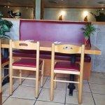 Tables Inside Thai Arroy