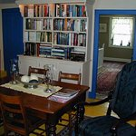 Second floor library, part of suite when requested and available.