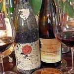 A wine list with 170 diferrent prestigious grand crus.