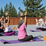Rooftop weekly Yoga
