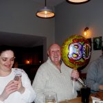 Ron's 80th Birthday (plus their wedding anniversary and my wife's birthday, all rolled into one)