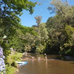 Jamieson River, picture taken within the Caravan Park