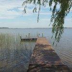 Laguna el carpincho, a 5 km de la estancia