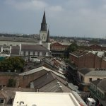 Roof top view from Hotel of Jackson Square