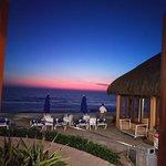 Sunset from La Palapa windows