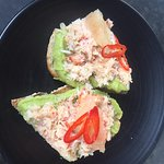 Avocado & Crayfish toast