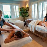 Couples Massage Treatment Rooms