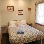 Main Bedroom Cabin 1, Jamieson Caravan Park