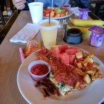 Free Breakfast was outstanding! Fresh omelettes