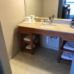We have redone many rooms, here is a new vanity bathroom area.