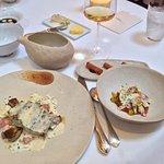 """Seabass & Foie Gras (""""Al la Carte"""", not the lunch 3 course)"""