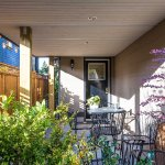 Spanish Banks, private entrance with covered patio