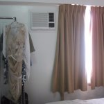limit clothes hanging area
