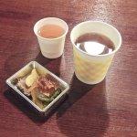 Ando Jozo, tea and pickles