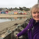 Colorful Buildings on the Capitola Seashore